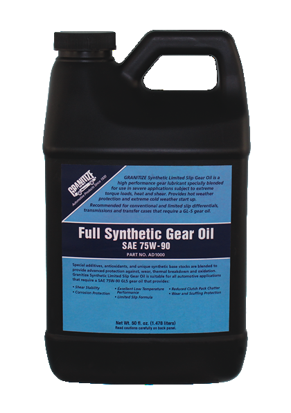 AD1000 75W-90W SYNTHETIC GEAR OIL