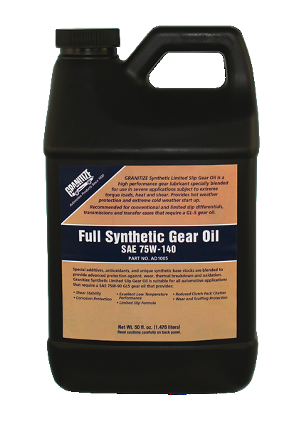 AD1005 75W-140W SYNTHETIC DIFFERENTIAL GEAR OIL