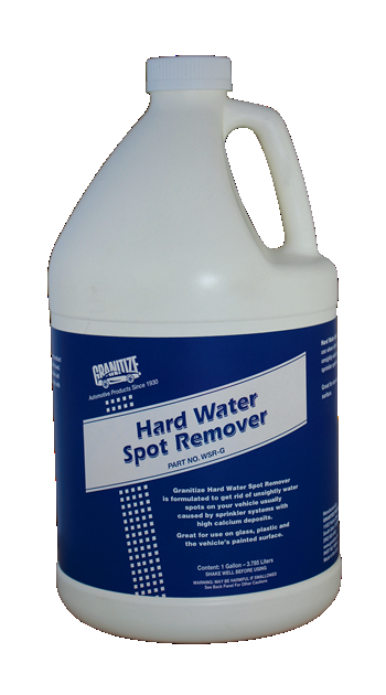 Hard Water Spot Remover WSR-G