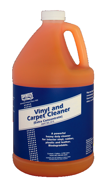 Vinyl & Carpet Cleaner I4-G