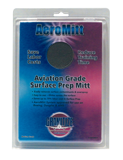 AeroMitt Aerospace Grade Surface Preparation Mitt