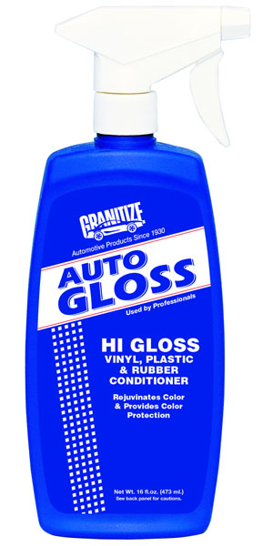 AG-516 Auto Gloss Hi Gloss Vinyl, Plastic & Rubber Conditioner