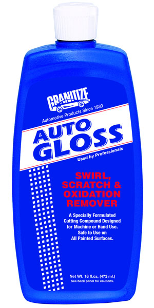 AG-416 Auto Gloss Swirl, Scratch & Oxidation Remover
