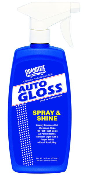 AG-616 Auto Gloss Spray & Shine