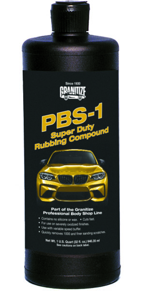 PBS-1 Super Duty Rubbing Compound