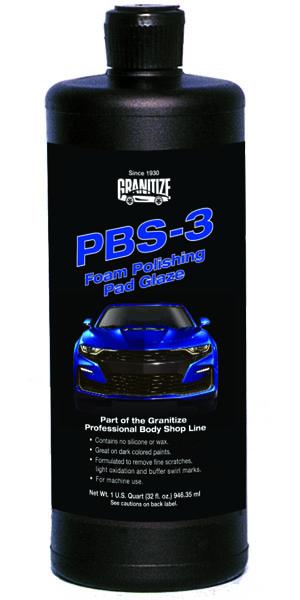 PBS-3 Foam Polishing Pad Glaze