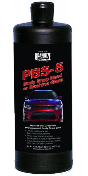 PBS-5 Body shop Hand or Machine Glaze